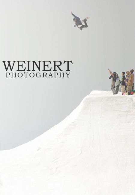 Photo of Zac Marben hitting a hip on Mt. Hood at High Cascade Snowboard Camp's park